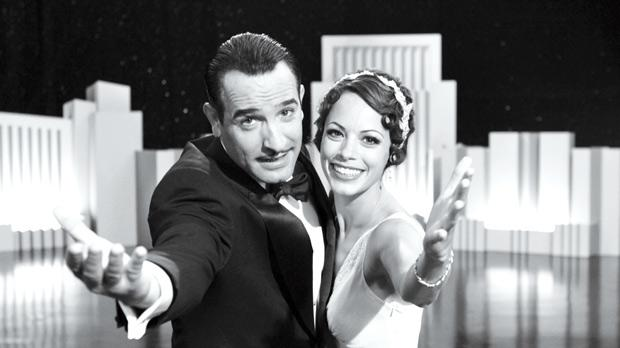 Jean Dujardin and Berenice Bejo in surprise Best Picture frontrunner The Artist.