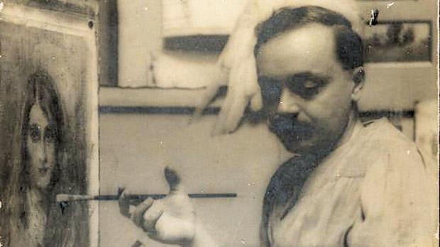 Gianni Vella in his studio.