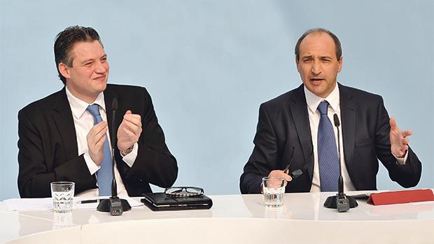 Ministers Konrad Mizzi and Chris Fearne are rivals in the fourth district.