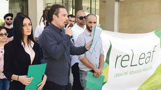 ReLeaf, a group of activists from all walks of life, launched a legislative framework for the regularisation of marijuana in October. Photo:Matthew Mirabelli