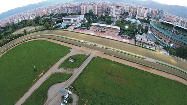 The 'Favorita' race track in Palermo.