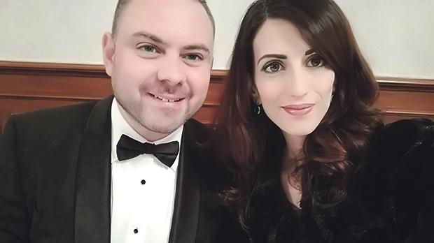 A recent photograph of Owen Bonnici and Janice Bartolo.