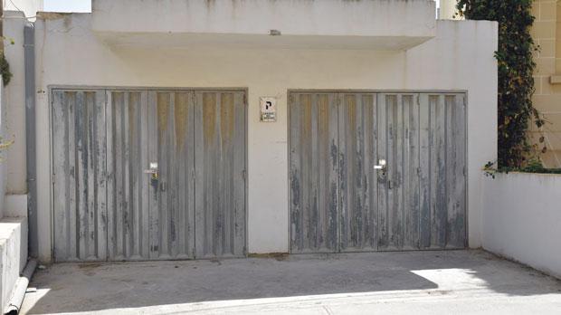 Investigators believe that Eleanor Mangion Walker, 33, was likely killed inside these garages in Swieqi. Photo: Mark Zammit Cordina