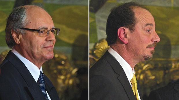 Economist Edward Scicluna has been appointed Finance Minister. Right: Doctor Godfrey Farrugia has been appointed Health Minister.