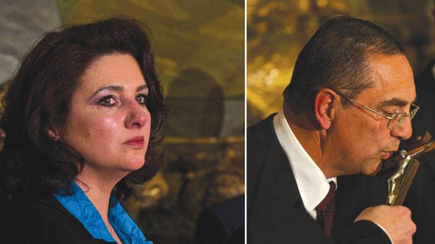 Helena Dalli is now Civil Liberties and Consumer Affairs Minister. Right: Joe Mizzi is Transport and Infrastructure Minister.