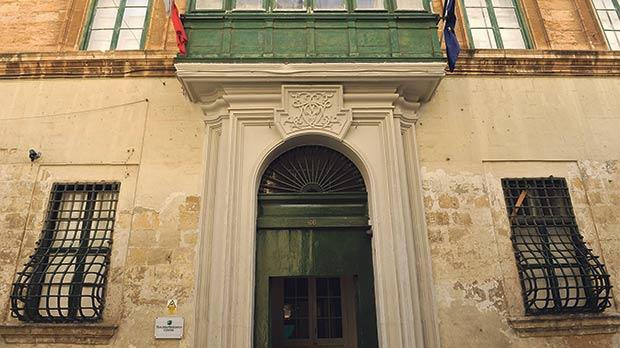 The Old Mint Street, Valletta, property at the centre of the Gaffarena scandal. Photo: Chris Sant Fournier