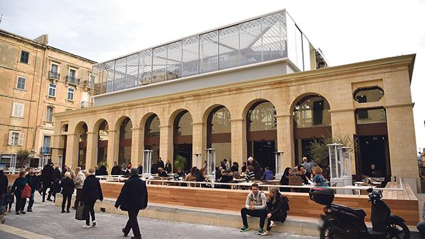 Architect Antoine Zammit raised concerns that the Valletta market did not help foster a strong community. Photo: Mark Zammit Cordina