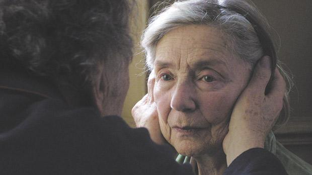 Amour by Michael Haneke, which won the Palme d'Or at Cannes.