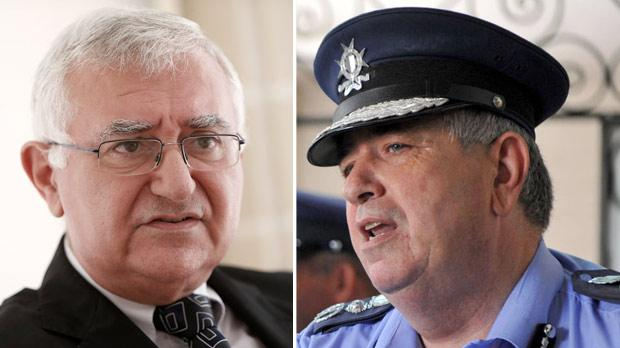 John Dalli. Right: John Rizzo.