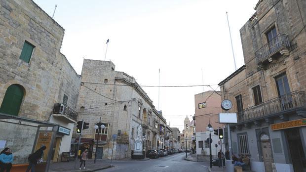 Sanctuary Street, Żabbar. Photo: Darrin Zammit Lupi