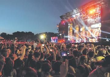 The Floriana Granaries, which has served as the venue for the Isle of MTV since the first edition in 2007, will not host this year's concert. Photo: Matthew Mirabelli