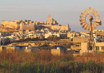 Gozo and its 31 hills