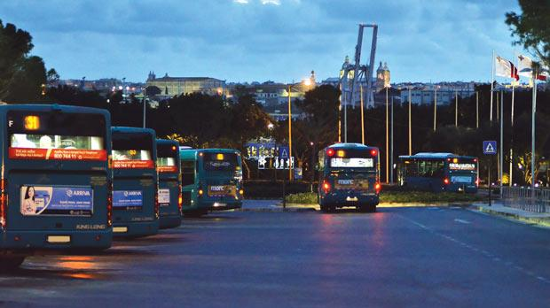Arriva's ill-fated two-and-a-half-year journey in Malta comes to an end on January 2. Photo: Ian Pace