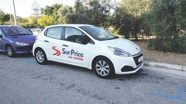 A photo posted on Facebook by irate Gudja councillor Mark Anthony Sammut showing a car rental company's vehicle parked in a public car park. Residents insist the company is breaching the law when it allegedly leaves its cars there.