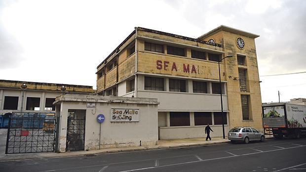 Sea Malta operated from the Marsa offices until its closure in 2006. Photo: Mark Zammit Cordina