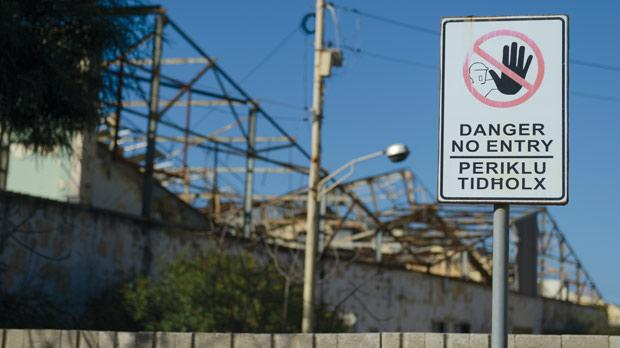 The government issues several large-scale contracts for asbestos removal at old factories, mostly belonging to the Malta Industrial Parks. Photo: Matthew Mirabelli