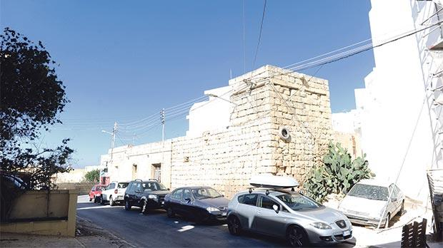 """The """"first-rate"""" wartime defence post in San Ġwann. Photo: Steve Zammit Lupi"""