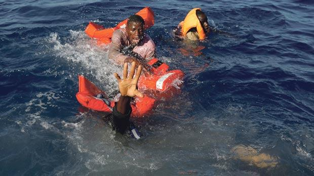 Nearly 250 missing in Mediterranean shipwrecks