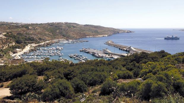 Mġarr Harbour – the only major port facility in Gozo. Photo: Darrin Zammit Lupi