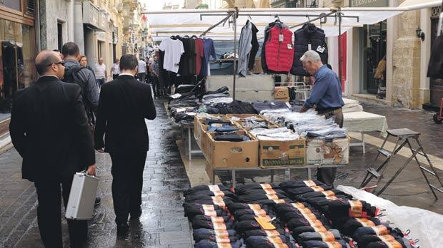 Merchants Street shop owners oppose the market's move. Photo: Matthew Mirabelli