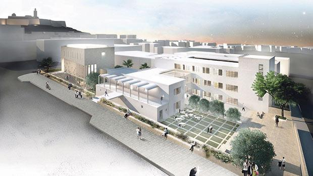 An artist's impression of the winning design for the planned €5 million Gozo Museum in Victoria.