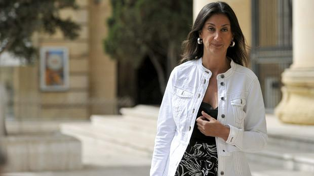Columnist Daphne Caruana Galizia (file photo).