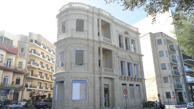 225 Tower Road, Sliema, now. Photo: Chris Sant Fournier