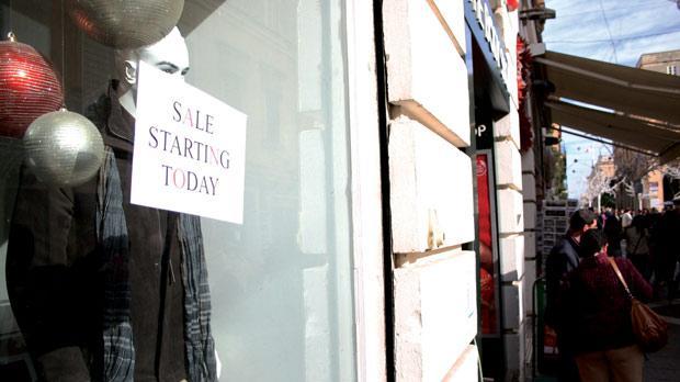 Sales in the city. Photo: Wessel de Cock
