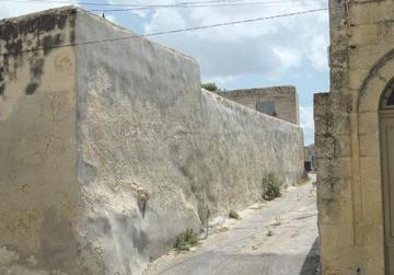 The alley in Dingli, today called Sqaq Santa Tereża, where Mr Abela is believed to have been murdered 125 years ago.