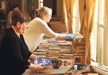 Giving books added shelf-life