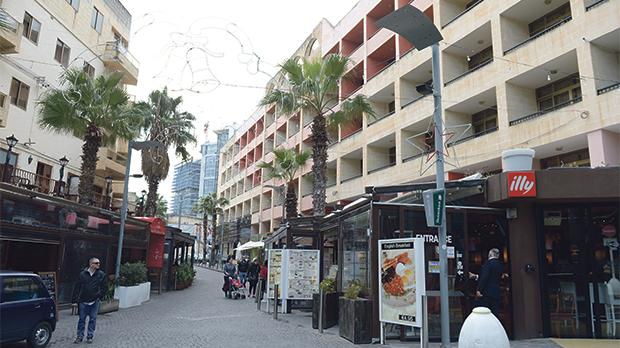 Under the original plan, large tracts of Paceville would have to be expropriated or pulled down. Photo: Matthew Mirabelli