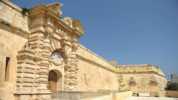 The latest master plan for Manoel Island includes a hotel at Fort Manoel. Photo: Matthew Mirabelli