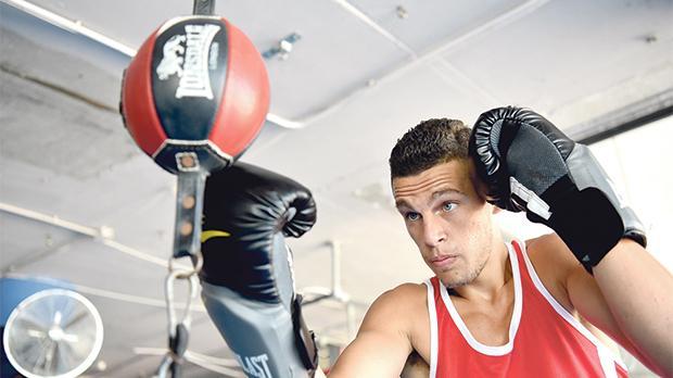 Miquel Cauchi hopes to be Malta's first Olympic boxing representative. Photo: Mark Zammit Cordina