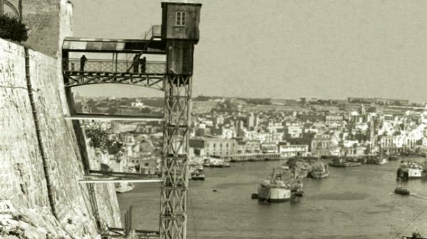 The old Barrakka lift.
