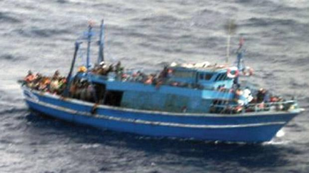 Around 170 women and 30 children were on board the boat.