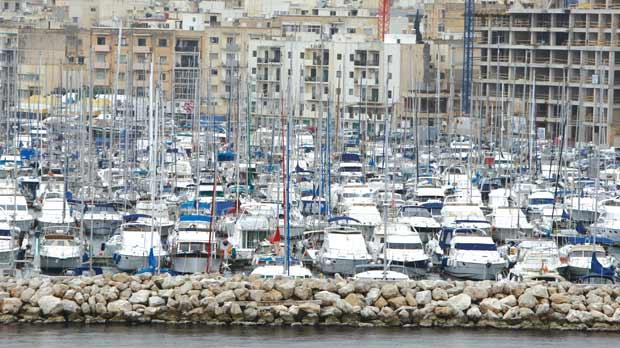 Malta allegedly grants private yachts the same tax reductions as freight and passenger vessels. Photo: Darrin Zammit Lupi