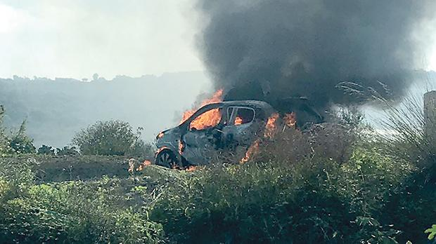 'Suspicious' vehicle seen before Daphne's car bomb detonated