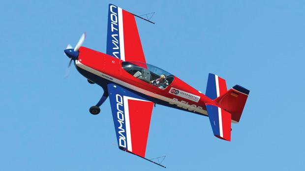 The two-seater stunt plane Ira will use.