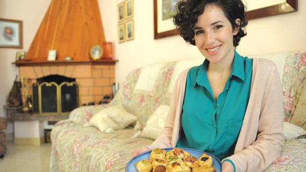 Marilù Vella is sending 100 dozen pastizzi to the UK to give a little taste of home for Maltese cancer patients and their families. Photo: Matthew Mirabelli