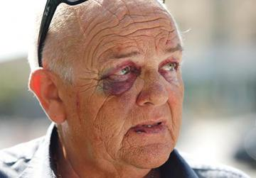 Briton, 59, beaten for refusing to pay parker