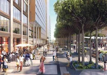 Paceville of the future: a forest of glassy high-rise towers?