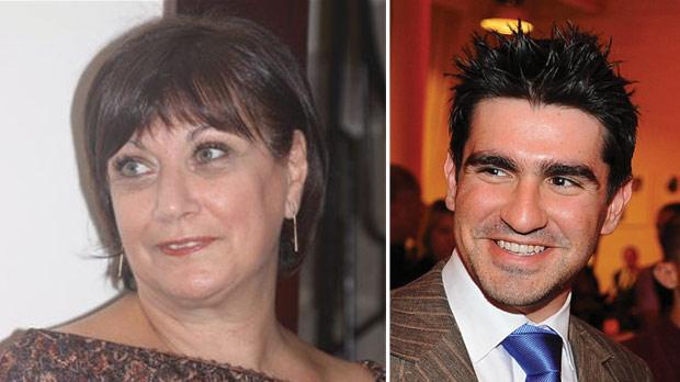 Tania Betts. Right: Massimo Farrugia.