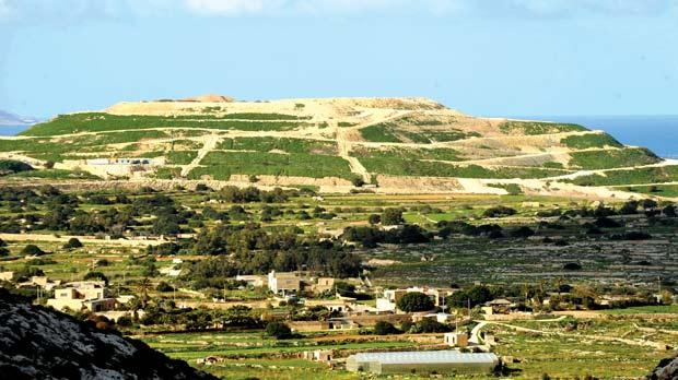 The Magħtab landfill. Photo: Chris Sant Fournier