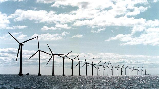 Studies are still being made to assess the viability of offshore wind farms.