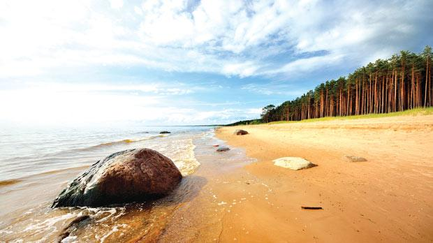 """Copacabana beach is about four kilometres long. In Latvia we have 500 kilometres of long, white sandy beaches."""