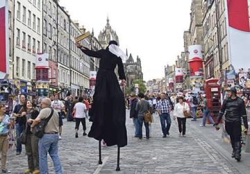 The Edinburgh Festival Fringe is a notoriously difficult stage.