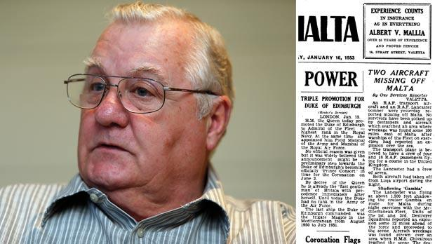 Stephen Chandler. Photo: Darrin Zammit Lupi. Right: How The Times reported on the tragedy.