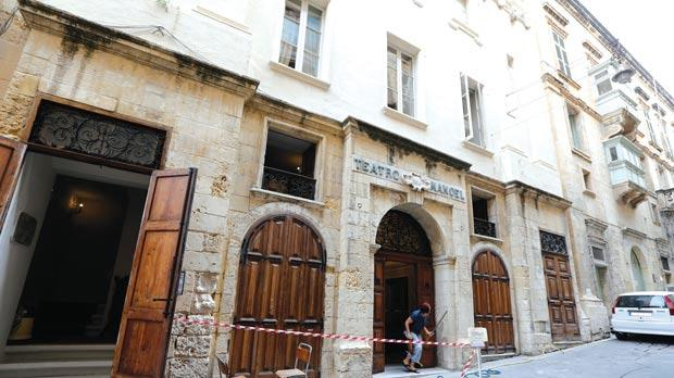 The façade of the Manoel Theatre in Valletta. Photo: Darrin Zammit Lupi
