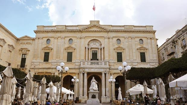 Situated in the heart of Valletta, the National Library building is a gem in its own right.