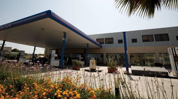 J. Gaff Service Station in Qormi. Photo: Darrin Zammit Lupi